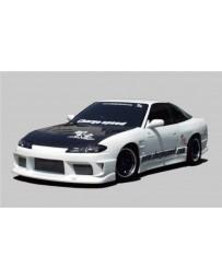 ChargeSpeed Type-1 Wide Body Full Kit: CS707FB, CS707SS, CS707RB, CS707FF, CS707FR Nissan Silvia S15 99-05