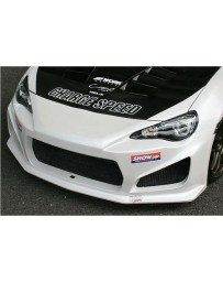 ChargeSpeed Type-1 Front Bumper (Japanese FRP) Subaru BR-Z ZC-6/ Scion FR-S FT-86/ Toyota 86 ZN-6 13-18
