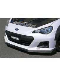 ChargeSpeed Type 2 Bottom Lines FRP Front Lip (Japanese FRP) 2013-2016 Subaru BR-Z ZC-6