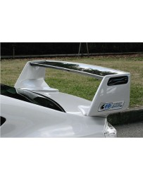 ChargeSpeed Straight Carbon Wing With FRP Base (Japanese CFRP) Subaru BRZ / Scion FR-S / FT-86 13-18