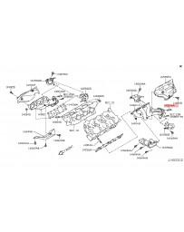 350z Nissan OEM Catalytic Converter Stud