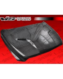 VIS Racing Carbon Fiber Hood SRT 2 Style for Dodge Ram 1500 2DR/4DR 09-18
