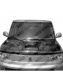 VIS Racing Carbon Fiber Hood Techno R Style for Scion XB 4DR 04-06