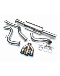 Agency Power Stainless Steel Catback Exhaust Triple Titanium Tips Ford Focus ST 13-16