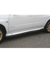 ChargeSpeed Bottom Lines FRP Side Skirts (Japanese FRP) Subaru Impreza GD-B 04-07