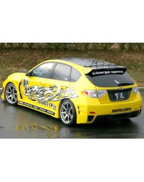 ChargeSpeed Widebody Full Kit (Japanese FRP) With Holes For Washer Model Subaru WRX STI 08-14