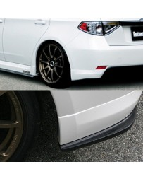 ChargeSpeed Bottom Lines Rear Caps FRP (Japanese FRP) Subaru WRX NON-STi GH8 08-10