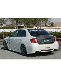 ChargeSpeed Carbon Trunk (Japanese CFRP) Subaru WRX/ STi GV-B Sedan 11-14