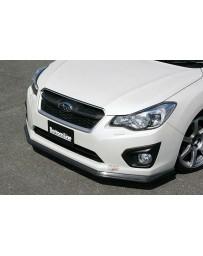 ChargeSpeed Carbon Bottom Line Front Lip (CFRP) Subaru Impreza GJ/ GP 4/5 Doors 12-15