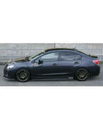 ChargeSpeed Bottom Line With OEM Side Skirts Complete Kit (CFRP) Pair Subaru Impreza GP 5 Doors 12-15