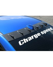 ChargeSpeed Carbon Roof Fin (Japanese CFRP) Subaru WRX STi 15-19