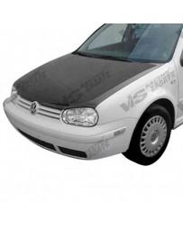 VIS Racing Carbon Fiber Hood OEM Style for Volkswagen Jetta 4DR 93-98