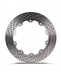350z Stoptech Aero Rotor Replacement Rear Disc with Hardware, LH Drilled