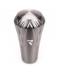Raceseng Regalia Shift Knob 3/8in.-24 Adapter - Charcoal Translucent