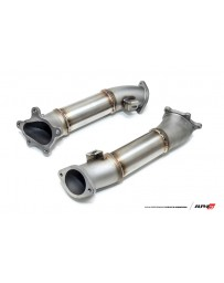 AMS Performance 2009+ Nissan GT-R R35 Alpha Cast Downpipes w/o Cats (Set of 2)