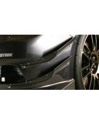 Varis Double FRP Hyper Canards Subaru STI GRB 08-12