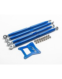 Agency Power Adjustable Rear Radius Arms Blue Polaris RZR 1000 RS1 XP Turbo RS1 RS1