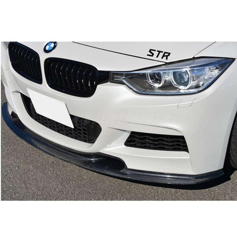 Varis Carbon Fiber Front Spoiler BMW 328i GT xDrive F30 M Sport 14-15