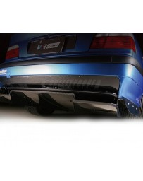 Varis Carbon Steel Rear Under Diffuser BMW E36 M3 92-99