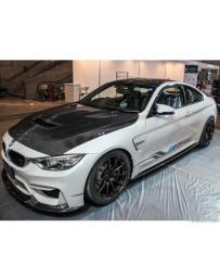 Varis Carbon Fiber Cooling Bonnet System 1 BMW F82 M4 15-20