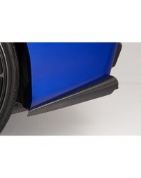 Varis Carbon Side Splitter Fin Subaru STi VAB 15-16