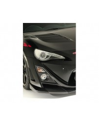 Varis Arising 2 Front Carbon Bumper Lip Guard Set Toyota GT-86 ZN6 13-15