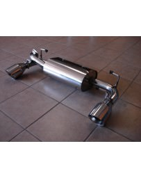 Toyota GT86 Top Speed Rear Axle-Back Exhaust System - Rear Section
