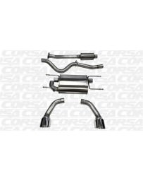 "Toyota GT86 Corsa Performance 2.5"" Cat-Back Exhaust, Dual Rear Exit with Single 4.5"" Polished Pro-Series Tips"