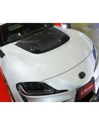 Varis Vented Cooling Hood Toyota Supra A90 19-20