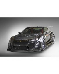 Varis Semi-Carbon Wide Body Kit B No Front Diffuser Toyota GT-86 ZN6 13-15
