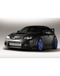 Varis Carbon Wide Body Full Kit D with Front VSDC Diffuser Subaru STi GRB 08-16