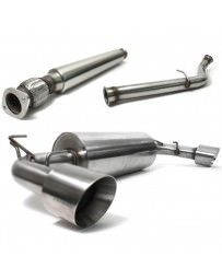 "Toyota GT86 Perrin Performance 2.5"" Non Resonated Brushed Catback Exhaust"