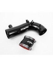 "Agency Power Hard Turbo Inlet Pipe Kit with 3"" Coupler Gloss Black Subaru STI WRX Forester 02-17"
