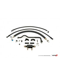 AMS Performance 2009+ Nissan GT-R R35 (LHD Only) Alpha Fuel Cooler Kit w/Factory Fuel Rails