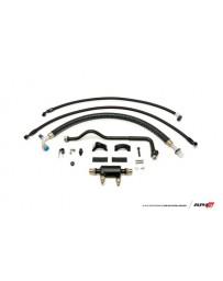 AMS Performance 2009+ Nissan GT-R R35 (LHD Only) Alpha Fuel Cooler Kit w/Factory Fuel Rails