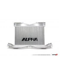 AMS Performance 2012+ Nissan GT-R Alpha Race Front Mount Intercooler with Logo