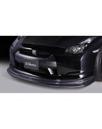 Varis Front VSDC-Carbon Diffuser Nissan GTR R35 09-16