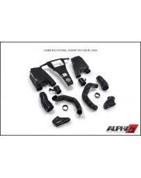 AMS Performance 2014+ Mercedes-Benz CLS63 AMG 4Matic 5.5L Biturbo Alpha Carbon Fiber Induction Kit