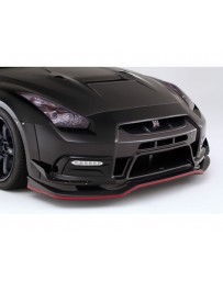 Varis FRP 14 Version Front Bumper Kit w/Front Diffuser in Nissan GTR R35 09-16