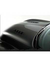 Varis VSDC V-Shaped Bonnet Hood with Dual Fins Infiniti M37 M56 Y51 Fuga 11-13