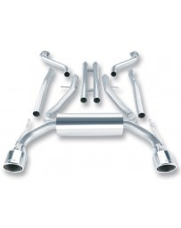 370z Borla True Dual Stainless Steel Cat-Back Exhaust System