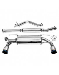 Toyota GT86 AVO Turboworld Resonated Cat-Back Exhaust System