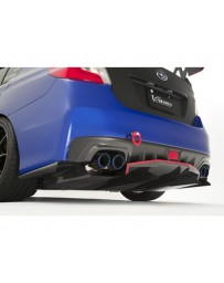 Varis Half Rear Carbon Diffuser Subaru STi VAB 15-16