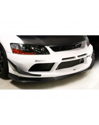 Varis Carbon Replacement Under Lip Mitsubishi EVO CT9A '09 Ver 06-07