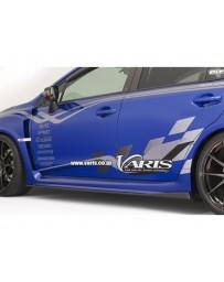 Varis Carbon Side Under Board Set Subaru STi VAB 15-16