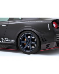 Varis Rear FRP Over Fender Nissan GTR R35 09-16
