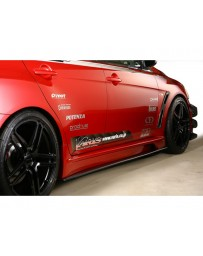 Varis FRP Side Skirt and Underboard Kit Mitsubishi EVO X CZ4A 08-15