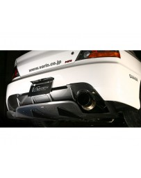 Varis Rear Half Carbon Diffuser Version 2 Mitsubishi EVO CT9A '09 Ver 06-07