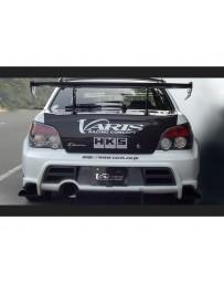 Varis Rear FRP Bumper Subaru STi GDB C-D-E 02-15
