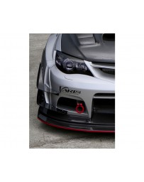 Varis Carbon Double Hyper Canard Set for Wide Body Bumper Subaru WRX GRB 08-16